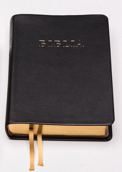 Bible, new translation (RÚF 2014), with concordance, big size, leather