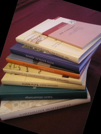 Kálvin-évfordulós könyvek